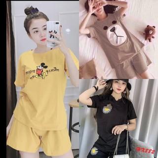 Xả rẻ bộ thun cotton đùi - a nh thâ t-CHO XEM HÀNG - 041 thumbnail
