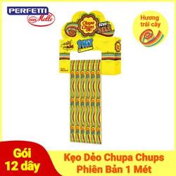 Kẹo Dẻo Chupa Chups Hương Trái Cây Phiên Bản 1 Mét (Gói 12 Dây)