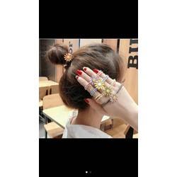dây cột tóc hoa cúc