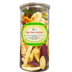 Rau củ quả sấy giòn 280gr hiệu SK Food - Thiên đường đồ ăn vặt