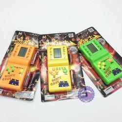 Vỉ đồ chơi máy chơi game điện tử xếp gạch, xếp hình (kèm pin) – ĐỒ CHƠI CHỢ LỚN