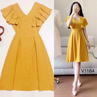 Đầm tay xếp ly dễ thương thời trang nữ cao cấp - CHIA43 thumbnail