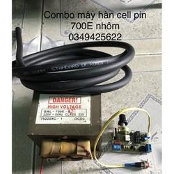 Combo máy hàn cell pin 700E lõi nhôm