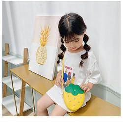 Thời trang túi xách trẻ em thời trang phụ kiện túi xách túi đeo chéo bé gái