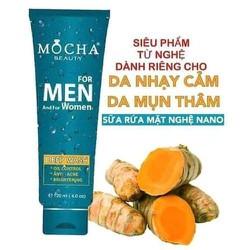 Sữa rửa mặt nghệ Nano MOCHA - MC06