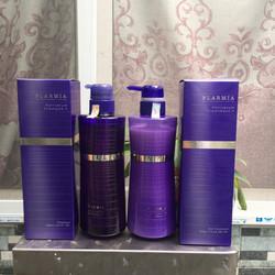 Cặp dầu gội xả Plarmia Hair Serum Milbon Nhật Bản dành cho tóc khô xơ ( 2x500ml)