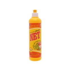 Nước rửa chén NET đậm đặc chiết xuất chanh tươi chai 388ml