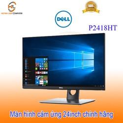 Màn hình máy tính cảm ứng 24inch Dell P2418HT IPS Led FullHD 1080p HDMI DP VGA - FPT phân phối
