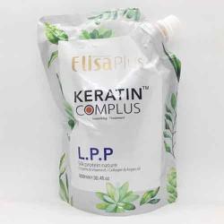 Kem ủ-Hấp Tóc Elisa plus LPP Keratin Complex Phục Hồi Mền Mượt 900ml