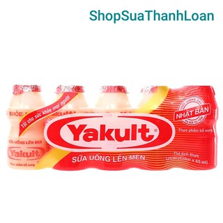 Lô c 5 chai sư a uô ng lên men Yakult 65ml - YAKUL thumbnail