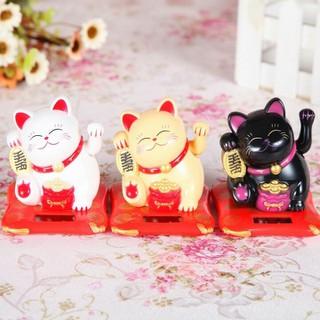 Tượng Mèo Thần Tài Vẩy Tay May Mắn - lvq37-- thumbnail