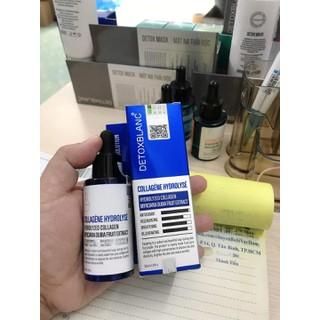 Serum collagen DETOX BLANC 11 - dưỡng da trắng mịn căng bóng - tái tạo da - ngừa lão hóa - Mẫu Mới Nhất - DETOX11 - 8924 thumbnail