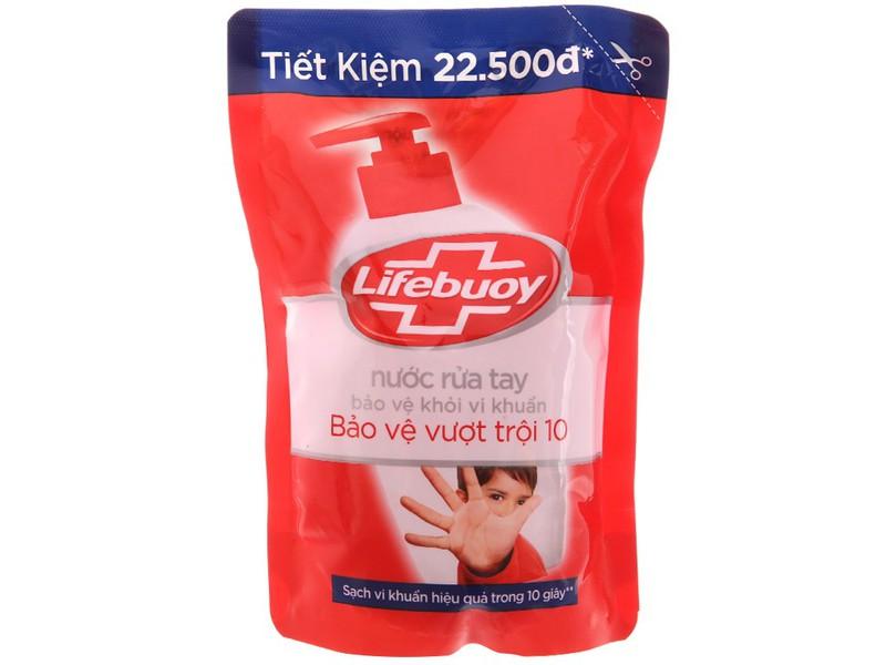 Nước rửa tay lifebuoy túi 450g - nước rửa tay lifebouy 450gr - nước rửa tay lifeboy 450g - 4077_41304237 4