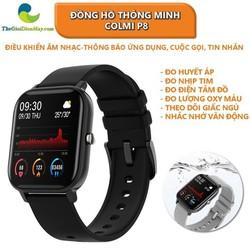 Đồng hồ thông minh Colmi P8 1.4 Inch Hỗ trợ theo dõi sức khỏe Full Tiếng Việt, Sạc 2.5 giờ dùng 5-7 ngày [ĐƯỢC KIỂM HÀNG]