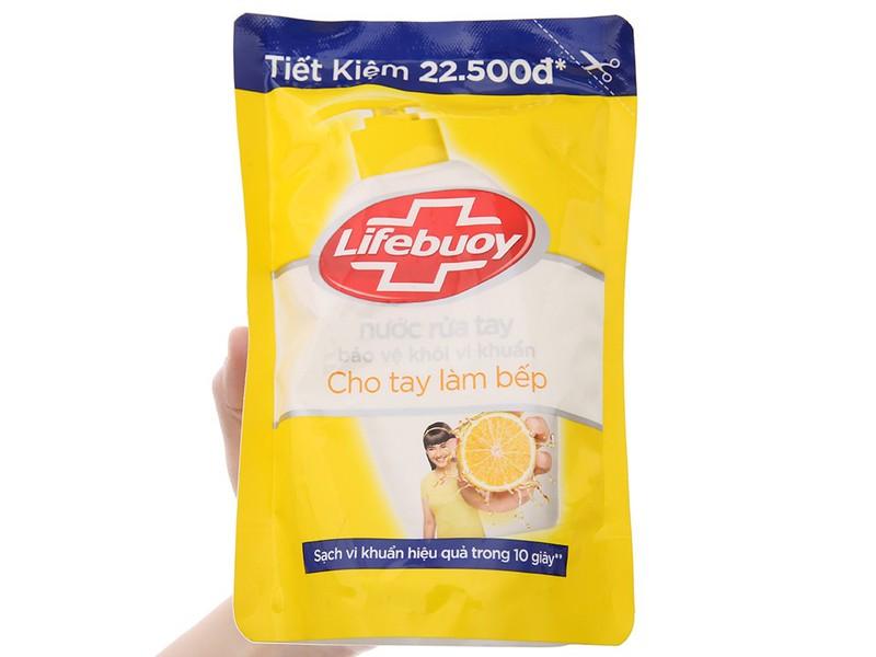 Nước rửa tay lifebuoy túi 450g - nước rửa tay lifebouy 450gr - nước rửa tay lifeboy 450g - 4077_41304237 7