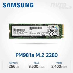 SSD nvme Samsung Pm981a 256gb / 512gb tốc độ siêu cao ( gấp 10 ssd sata )