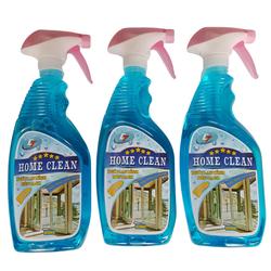 Combo 4 chai nước lau kính đa năng Home Clean 650ml