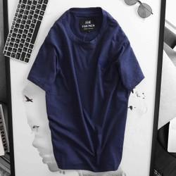Áo thun nam ngắn tay cổ tròn thêu logo cao cấp