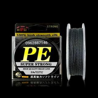 dây dù câu cá PE SUPER STRONG tải cá 71kg - dây dù câu cá PE SUPER STRONG tải cá 71kg thumbnail