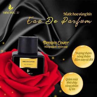 Nước Hoa Vùng kín Thảo Mộc 37 mùi Dream lover ngọt ngào, đam mê Lưu hương 48h