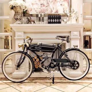 Xe đạp máy cổ điển Craftsman 1924 Xe đạp cổ phong Châu Âu gắn động cơ - XDCCA thumbnail