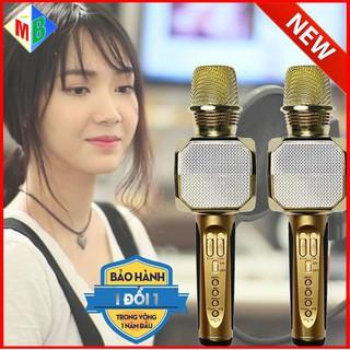 Micro Karaoke Bluetooth SD10 Kèm Loa Chính Hãng Dùng cho điện thoại, máy tính bảng - sd10 thumbnail