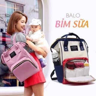 Túi balo balô bỉm sữa nhiều ngăn thời trang cho mẹ và bé - sp-273 thumbnail