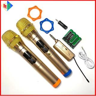 Micro Không Dây Cao Cấp ZANSONG S28 Chính Hãng Kết Nối amply , loa kẹo kéo , loa karaoke - Zansong s28 thumbnail