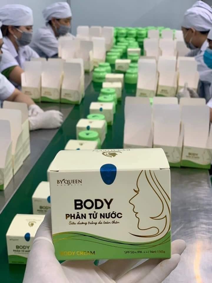 Kem Body Trắng Da - byqueen