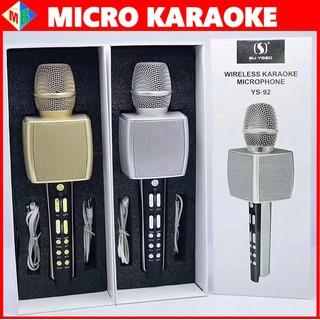 Micro Karaoke Bluetooth YS92 Hát Siêu Hay Chính Hãng Dùng Cho Điện Thoại, Máy Tính Bảng - ys92 thumbnail