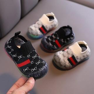 Giày Bún Tập Đi Mềm Nhẹ Ôm Chân Cho Bé - BUNGC thumbnail