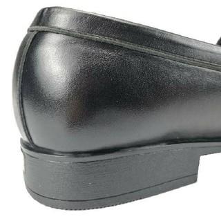 Giày lười nam nơ chuông size khủng 44 49 da thật hàng xưởng đóng - GBSNC 5