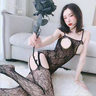 Cosplay sexy hoạ tiết khoét ngực STKFL005 - STKFL005 thumbnail