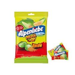 kẹo Alpenliebe Xoài Muối Ớt siêu thần thánh hot hit 87G