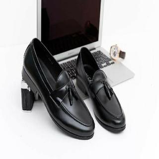 Giày lười nam nơ chuông size khủng 44 49 da thật hàng xưởng đóng - GBSNC 2