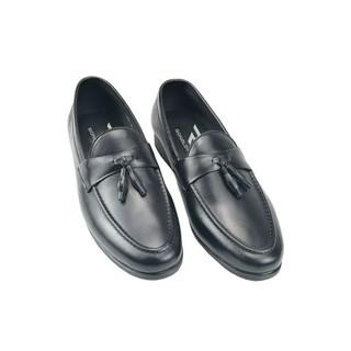 Giày lười nam nơ chuông size khủng 44 49 da thật hàng xưởng đóng - GBSNC 7
