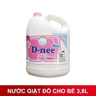 Nước Giặt D-nee Thái Lan 3 Lít 8 cực thơm tặng bánh xà phòng thái lan - NGDN123 thumbnail