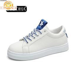 Giày Sneaker Thời Trang Nữ Top New -   SN6689TX Trắng Phối Xanh
