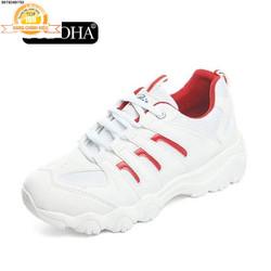Giày Sneaker Thể Thao Nữ Mẫu Mới  Shop SN56199 Trắng Phối Đỏ