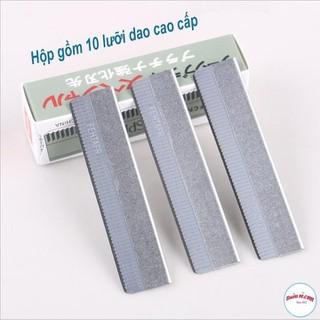 Hộp 10 dao cạo lông mày chính hãng MAYCREATE - Ms21 thumbnail