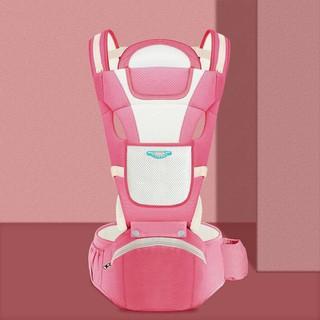 [Được chọn màu] ĐỊU EM BÉ THOÁNG KHÍ - CÓ GHẾ CHỐNG GÙ - ĐỊU NGỒI CHO BÉ - Điệu trẻ em đa chức năng - Địu ngồi cho bé 6 tư thế đa năng - địu1 thumbnail