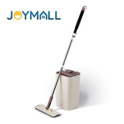 Bộ cây lau nhà xoay tay Locku0026Lock Squeeze Flat Mop ETM471 - Hàng chính hãng, chất liệu Inox, nhựa PP, ABS - JoyMall