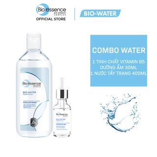 Combo cấp ẩm cho da Bio-Essence Bio-Water (Tinh chất Gel Vitamin B5 30ml + Nước tẩy trang Micellar Water 400ml) - CB01WP100501 thumbnail