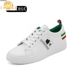 Giày Sneaker Thời Trang Nữ -  shop SN005TX Trắng Phối Xanh