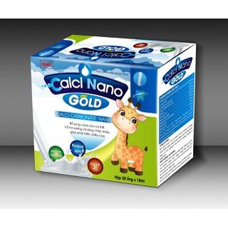 Canxi tăng chiều cao cho bé-Calci Nano Gold giúp Bổ Sung Canxi, Vitamin D3,Giup Phát triển chiêu cao ở trẻ, giảm loãng xương ở người lớn - Bổ sung Canxi, Vitamin D3, Vitamin K2 giúp ph thumbnail