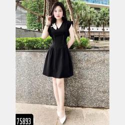 DAM NU-Dam vay nu-Đầm xòe dự tiệc-đầm công sở-Đầm nữ thanh lịch-Đầm xòe xinh xắn