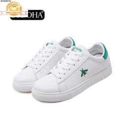 Giày Sneaker Nữ Thời Trang  SN33668X Trắng Phối Xanh