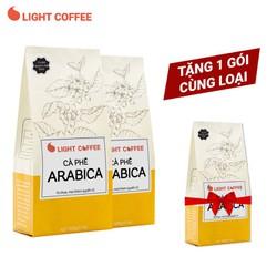 [TẶNG 1 GÓI 500G] Combo 2 gói 500g Cà phê bột Arabica nguyên chất - Light Coffee