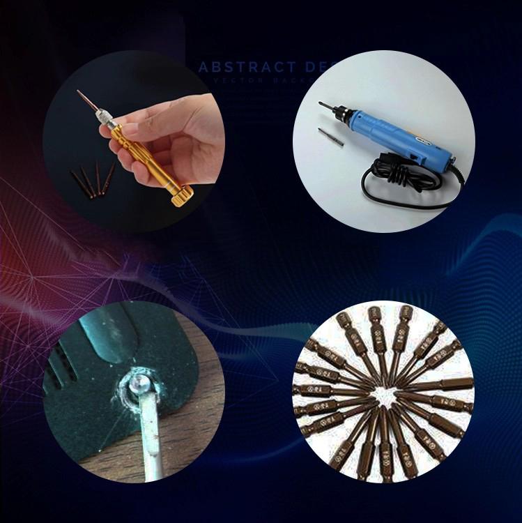 Hot Vít Điện Mini Tam Giác LAPTOP Tháo Lắp Kê Điện Thoại Dụng Cụ Sửa Chữa đa năng nhỏ gọn cho thợ điện tử chuyên nghiệp - VDMNI 6