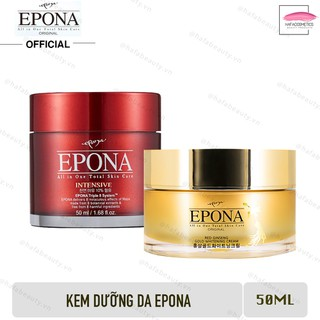 Combo Kem dưỡng da Epona dầu ngựa dưỡng ẩm chống lão hoá và Kem Epona hồng sâm giảm thâm m từ 50ml - 4166896360 thumbnail